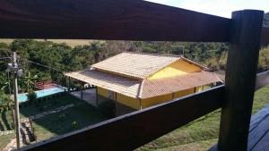 Vista Superior Da Casa